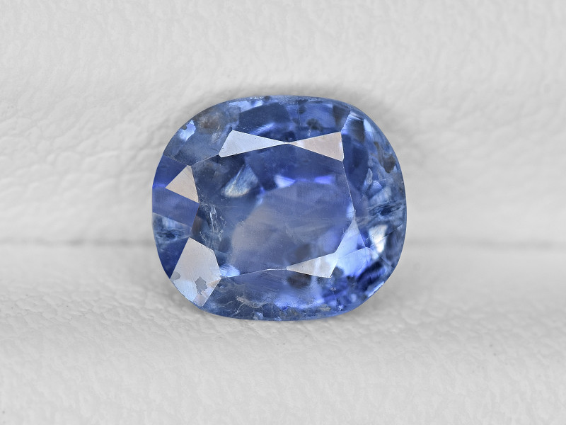 Blue Sapphire, 1.26ct - Mined in Kashmir | Certified by GIA & IGI