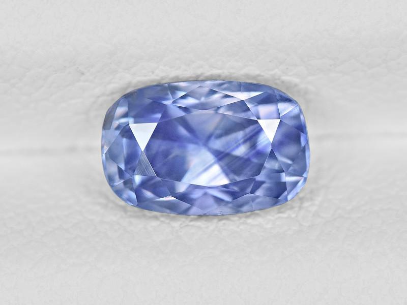 Blue Sapphire, 1.34ct - Mined in Kashmir | Certified by IGI