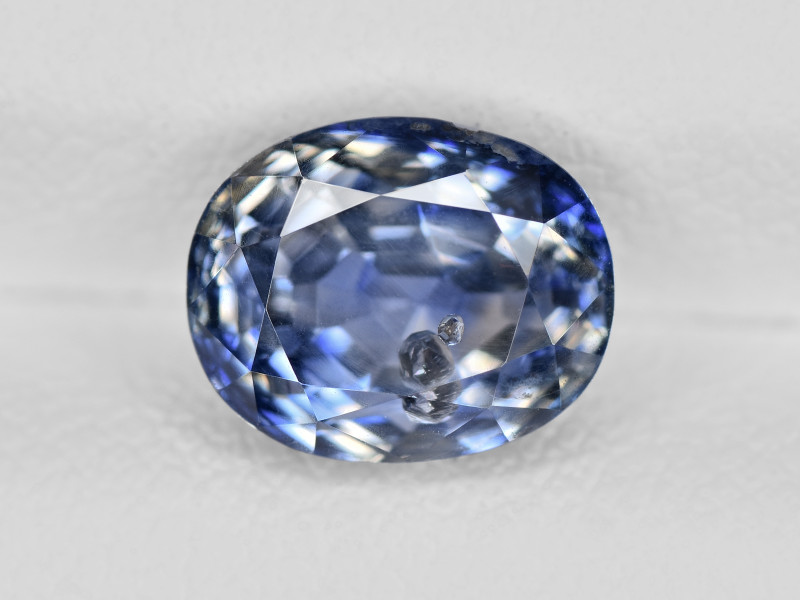 Blue Sapphire, 2.76ct - Mined in Kashmir   Certified by GIA & IGI