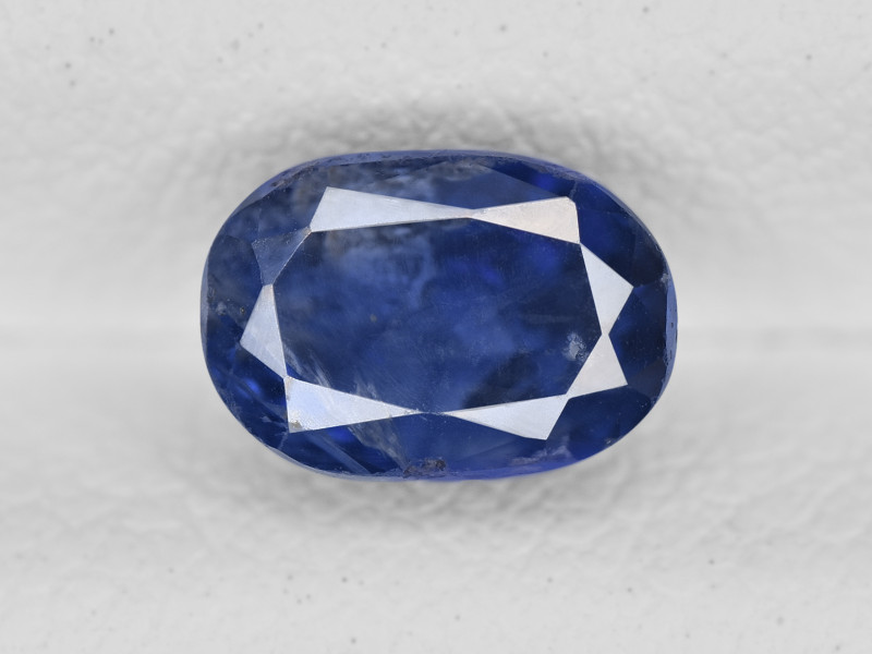 Blue Sapphire, 1.65ct - Mined in Kashmir | Certified by GIA & IGI