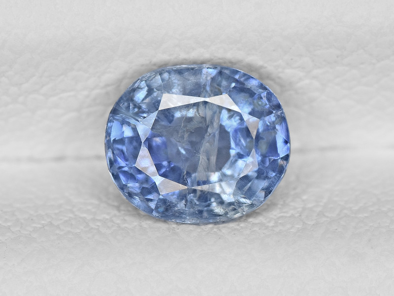 Blue Sapphire, 0.89ct - Mined in Kashmir | Certified by GIA & IGI