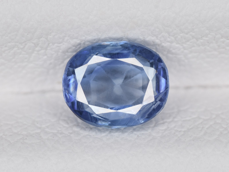 Blue Sapphire, 0.96ct - Mined in Kashmir   Certified by GIA & IGI