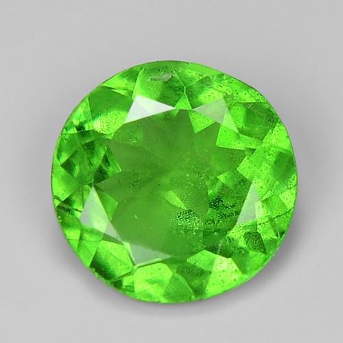 0.65 Ct Tsavorite Garnet Sparkling Luster Gemstone TS 38
