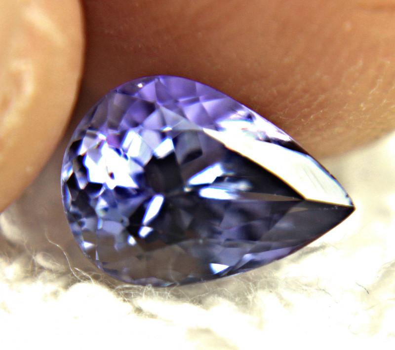 1.88 Carat Blue African VVS Tanzanite - Gorgeous