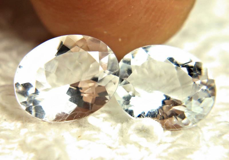 4.54 Tcw. South American VVS Goshenite Beryls - Gorgeous