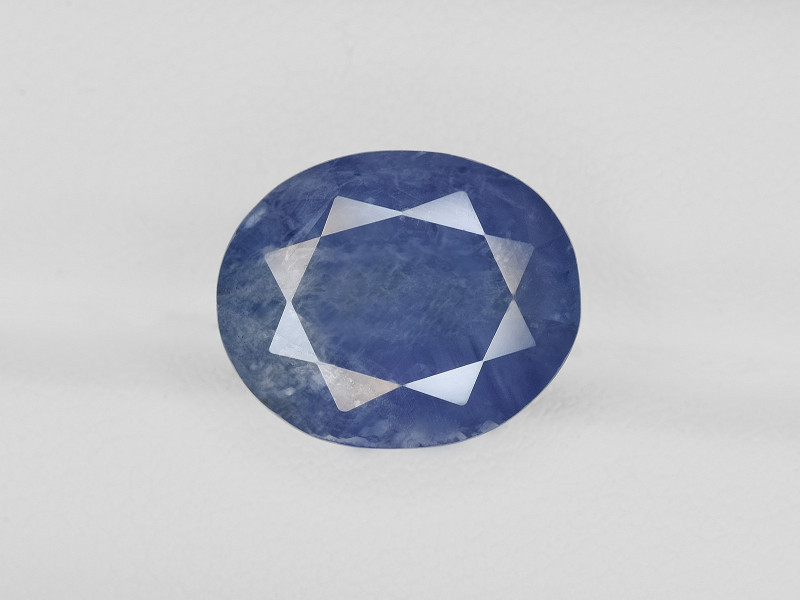Blue Sapphire, 14.02ct - Mined in Burma | Certified by AIGS