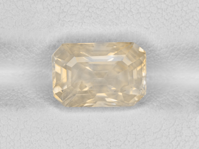 Yellow Sapphire, 5.13ct - Mined in Sri Lanka   Certified by AIGS
