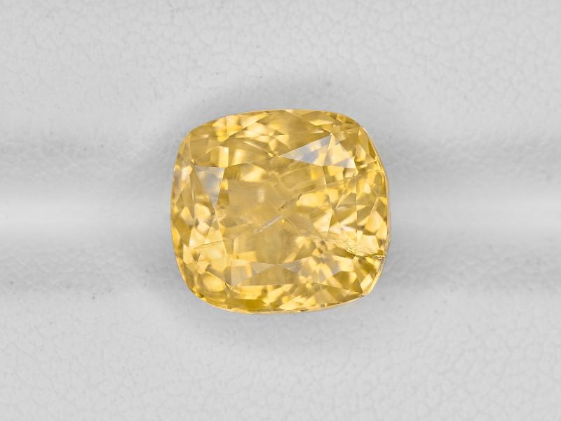 Yellow Sapphire, 7.24ct - Mined in Sri Lanka   Certified by IGI