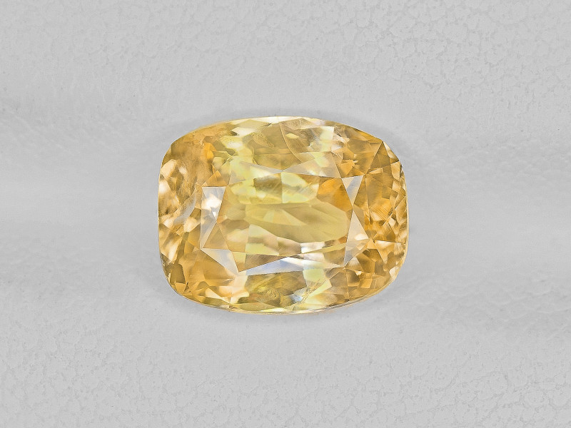 Yellow Sapphire, 3.26ct - Mined in Sri Lanka | Certified by IGI