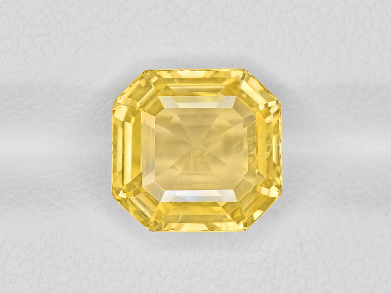 Yellow Sapphire, 5.57ct - Mined in Sri Lanka | Certified by GIA