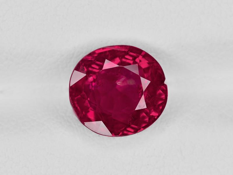 Ruby, 3.11ct - Mined in Burma | Certified by GII