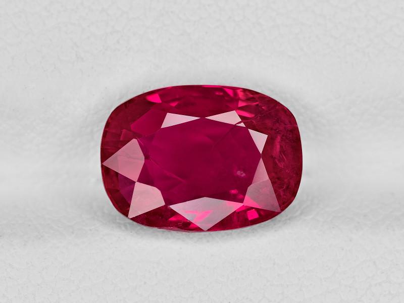 Ruby, 3.48ct - Mined in Burma | Certified by GII