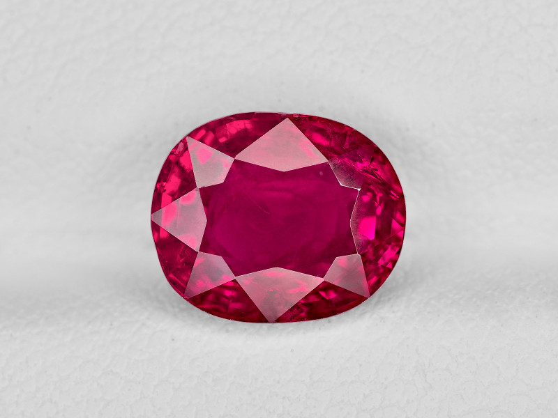 Ruby, 3.56ct - Mined in Burma   Certified by GII