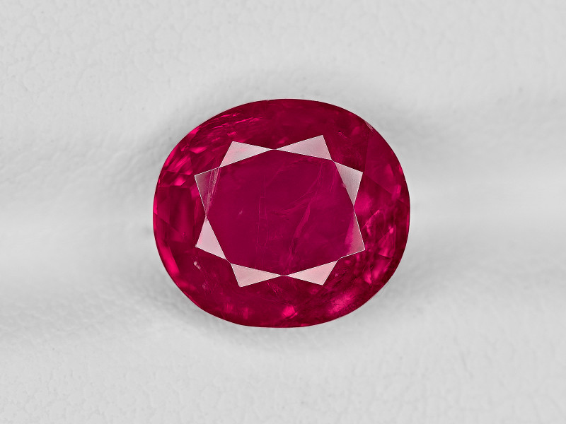Ruby, 3.76ct - Mined in Burma | Certified by GII