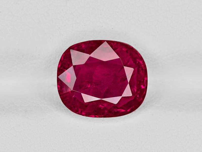 Ruby, 4.38ct - Mined in Burma | Certified by GRS