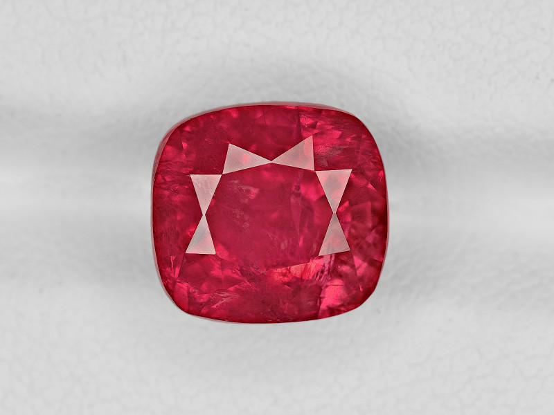 Ruby, 7.54ct - Mined in Tanzania | Certified by GRS