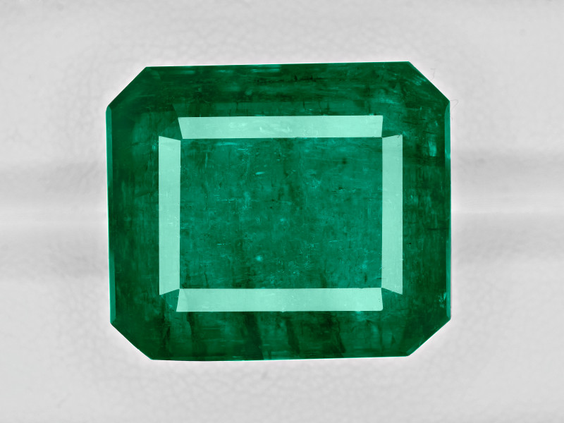 Emerald, 39.09ct - Mined in Zambia | Certified by GRS