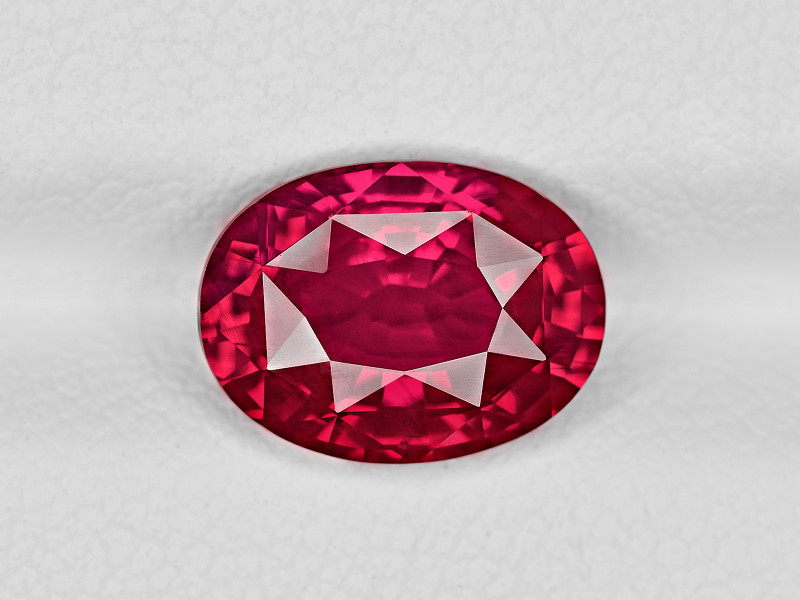 Ruby, 3.04ct - Mined in Mozambique | Certified by GRS