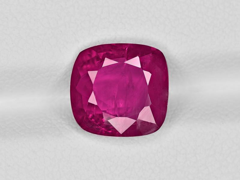 Ruby, 4.09ct - Mined in Burma | Certified by GRS