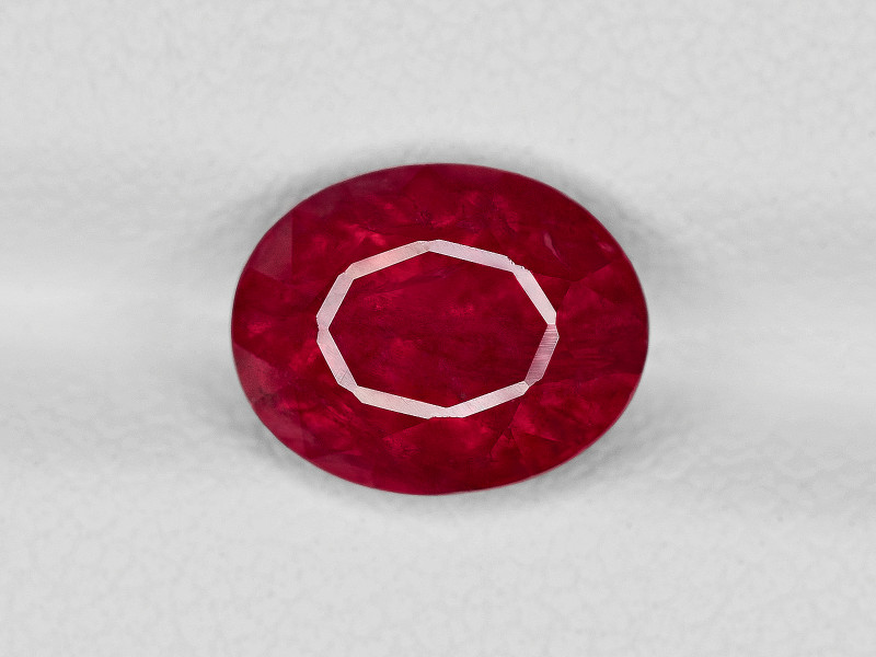 Ruby, 3.49ct - Mined in Tanzania | Certified by GRS