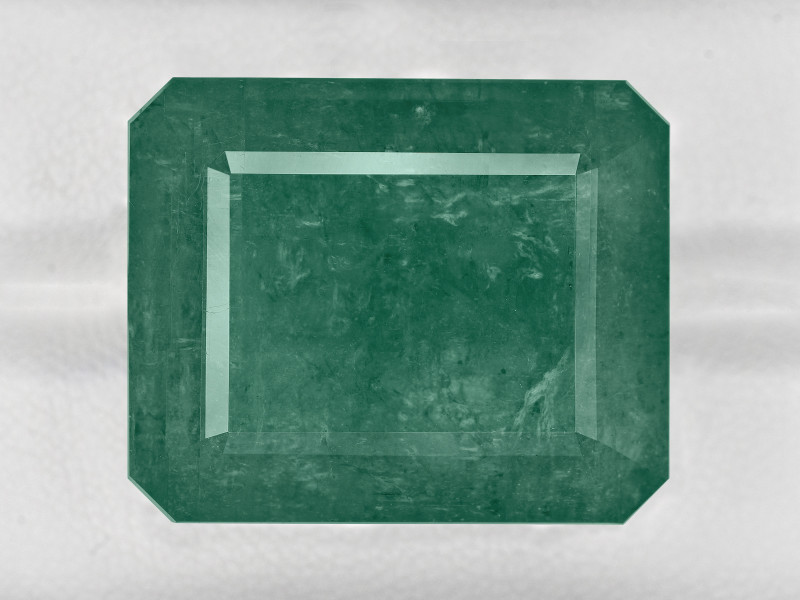 Emerald, 66.07ct - Mined in Zambia | Certified by GRS