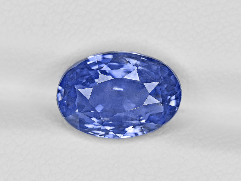 Blue Sapphire, 5.03ct - Mined in Sri Lanka   Certified by GRS