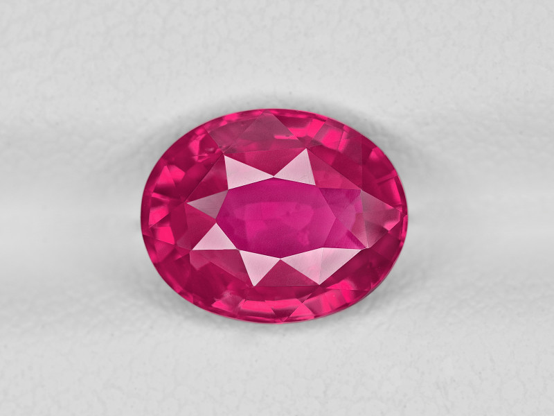 Ruby, 2.52ct - Mined in Mozambique | Certified by GRS