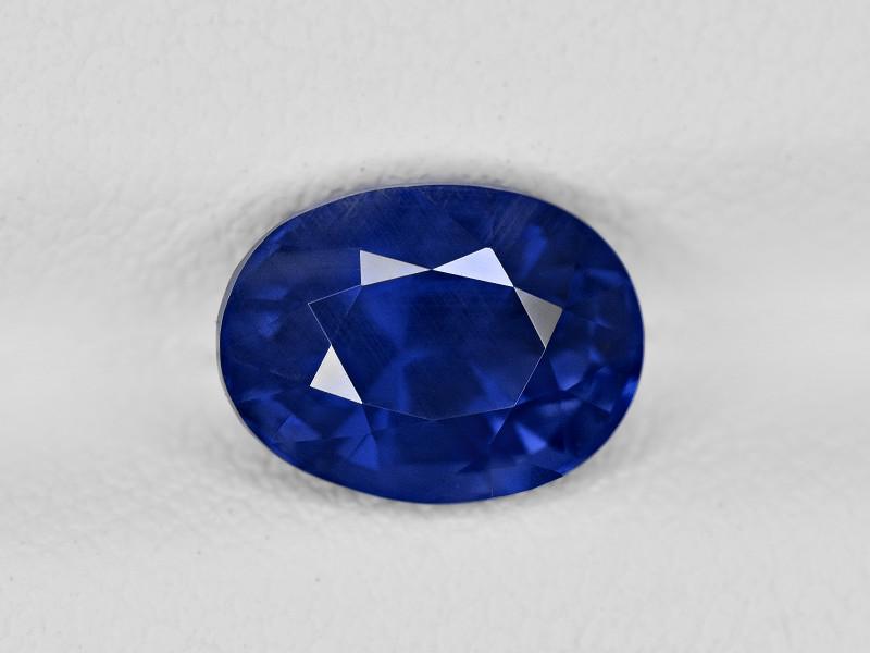 Blue Sapphire, 2.42ct - Mined in Sri Lanka | Certified by GRS