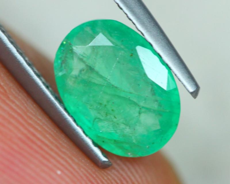 1.50ct Natural Zambia Green Emerald Lot GW4051