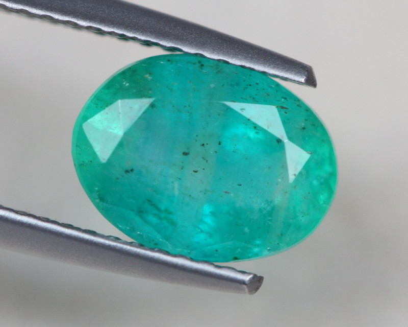 2.20ct Natural Zambia Green Emerald Lot GW4053
