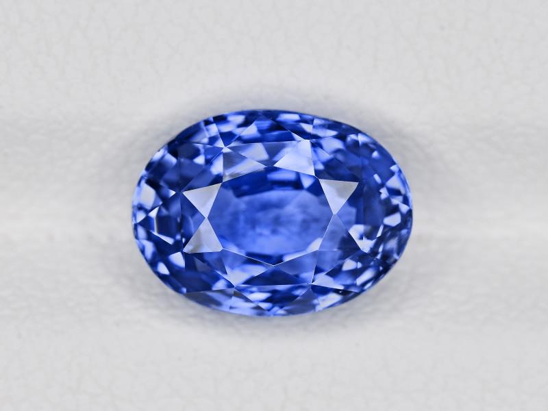 Blue Sapphire, 4.11ct - Mined in Sri Lanka | Certified by GRS