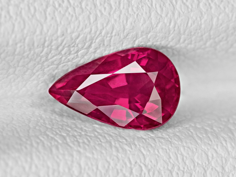 Ruby, 1.17ct - Mined in Mozambique | Certified by IGI