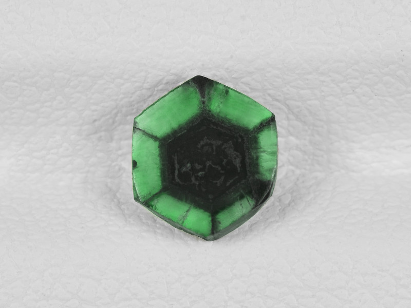 Trapiche Emerald, 0.75ct - Mined in Colombia | Certified by IGI