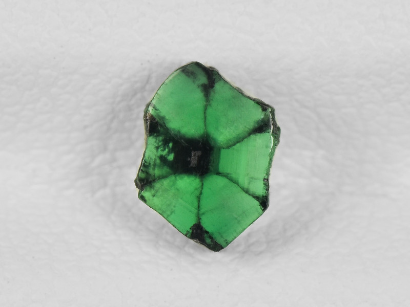 Trapiche Emerald, 0.69ct - Mined in Colombia | Certified by IGI