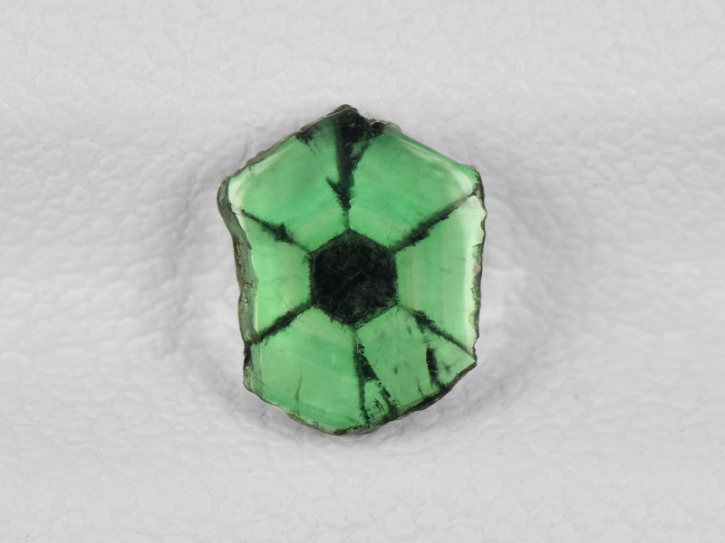 Trapiche Emerald, 0.64ct - Mined in Colombia | Certified by IGI