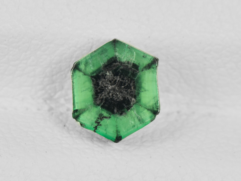 Trapiche Emerald, 0.78ct - Mined in Colombia | Certified by IGI