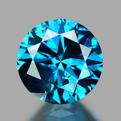 0.31 CT DIAMOND SPARKLING BLUE COLOR BD31