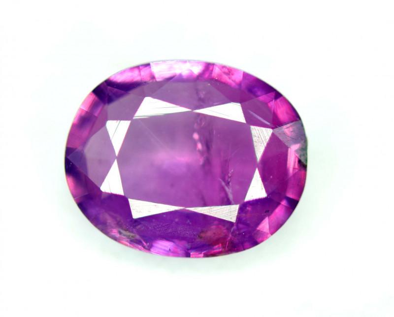 Rare 1.10 Ct Natural Corundum Pink Sapphire From Kashmir