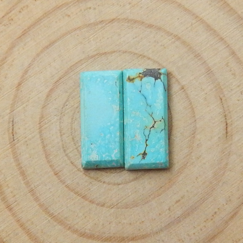 2pcs Lucky Turquoise ,Handmade Gemstone ,Turquoise Cabochons ,Lucky Stone D