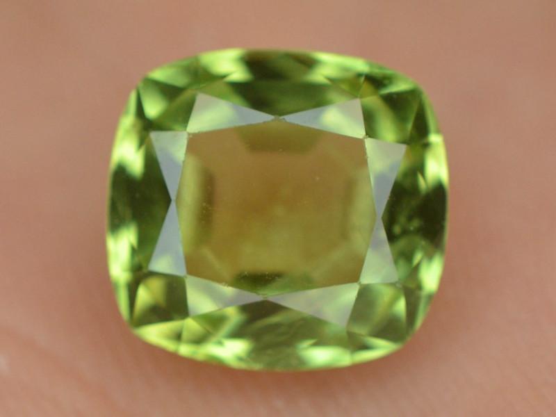 5.00 Ct Untreated Fancy Cut Green Peridot