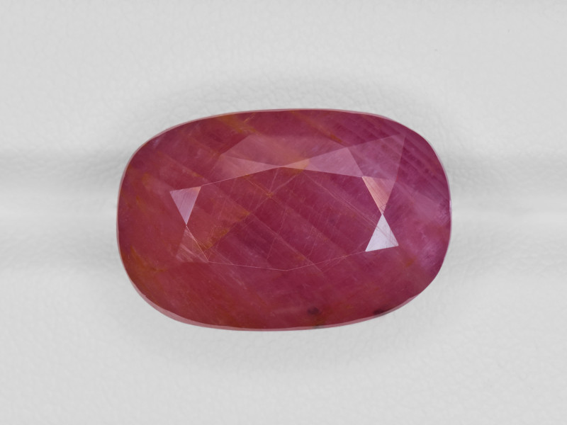 Ruby, 24.25ct - Mined in Guinea | Certified by GII