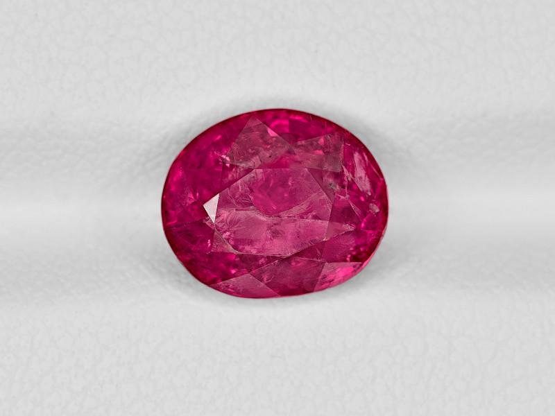 Ruby, 3.36ct - Mined in Burma | Certified by IGI & GII