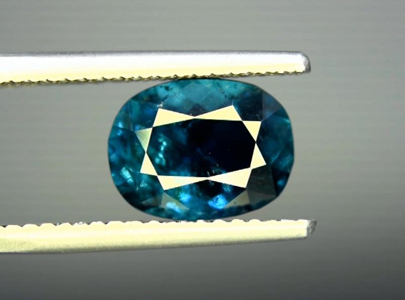 3.25 CT  Indicolite Color Natural Tourmaline Gemstone