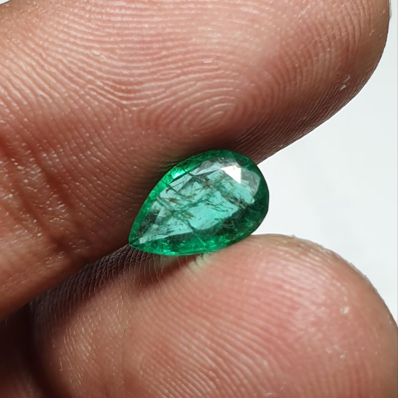 Amazing Green Zambian Emerald