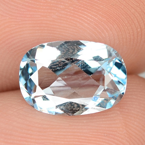 3.10 CTS FANCY SWISS BLUE COLOR TOPAZ NATURAL GEMSTONE