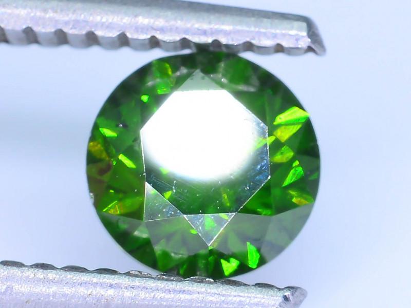AIG Certified 0.97 ct I1 Clarity Green Diamond SKU-13