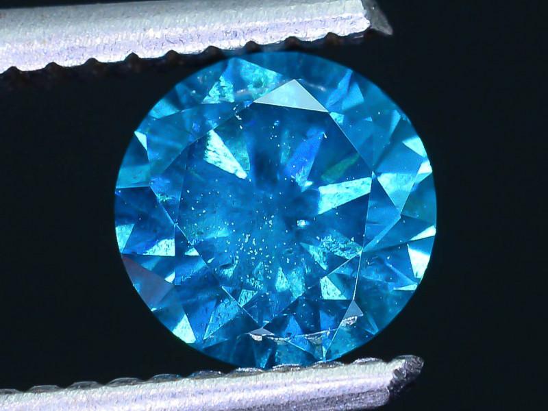 AIG Certified 1.01 ct I2 Clarity Blue Diamond SKU-13