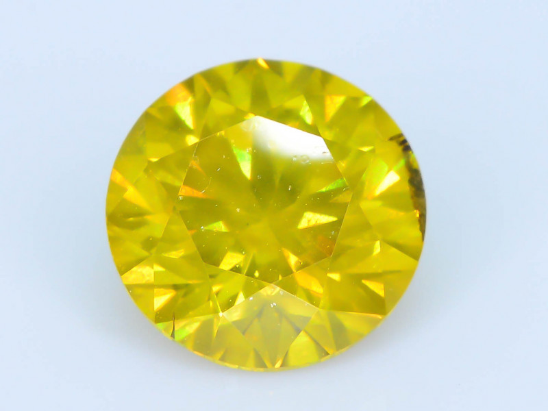 AIG Certified 1.13 ct I1 Clarity Golden Diamond SKU-13