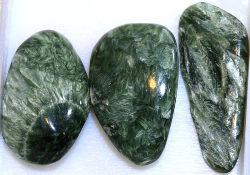 56CTS GREEN SERAPHINITE PARCEL  ADG-376