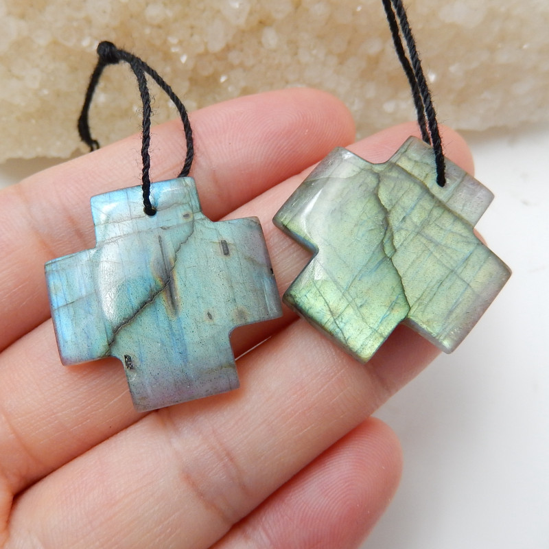 High Quality Labradorite Earrings Gemstone beads, stone for earrings making
